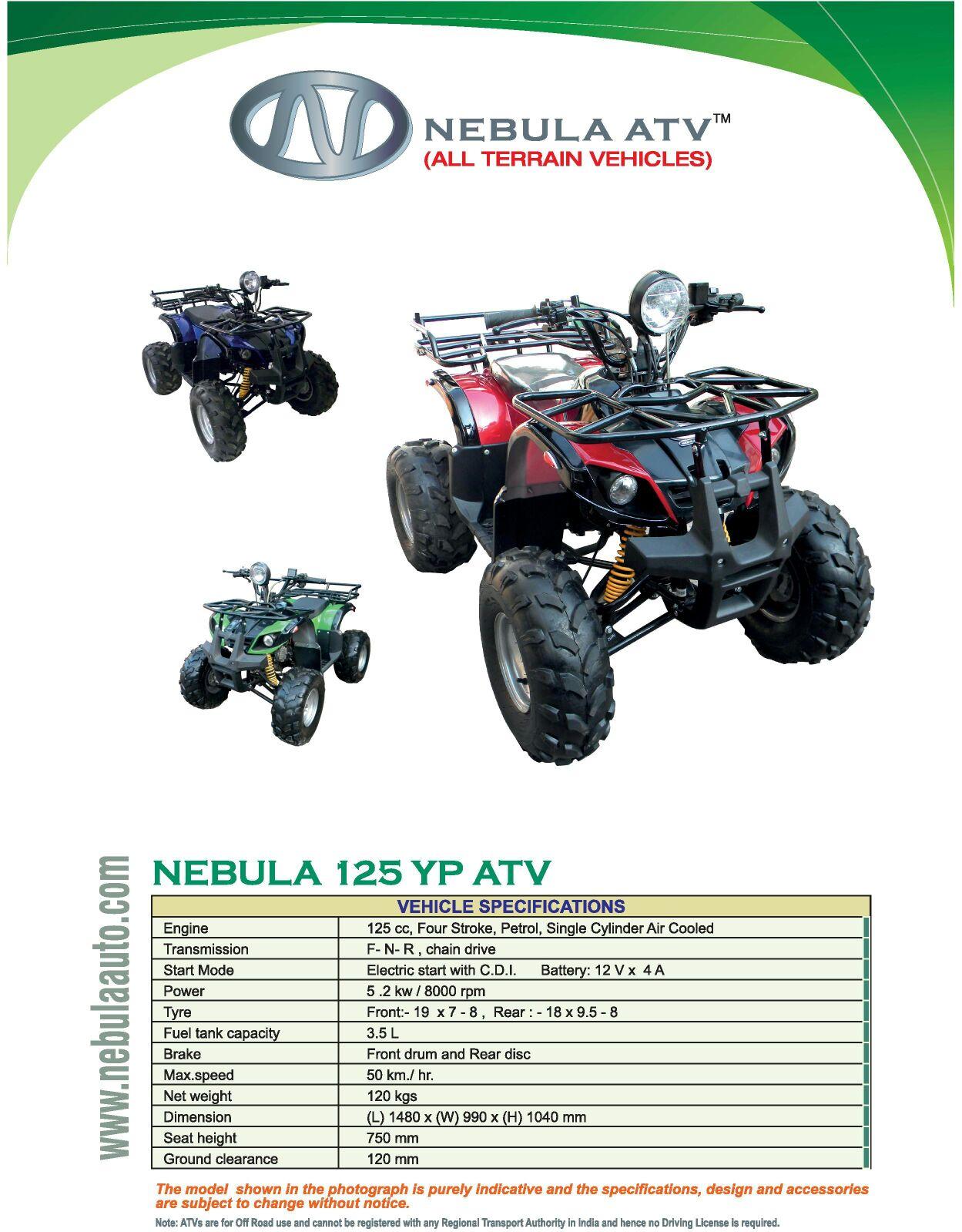 Nebula Auto best ATVs | Manufacturer of All Terrain ...